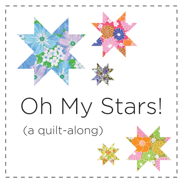 Oh My Stars A Quilt Along Thought Amp Found